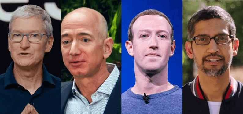 مديرين Amazon و Apple و Facebook و Google