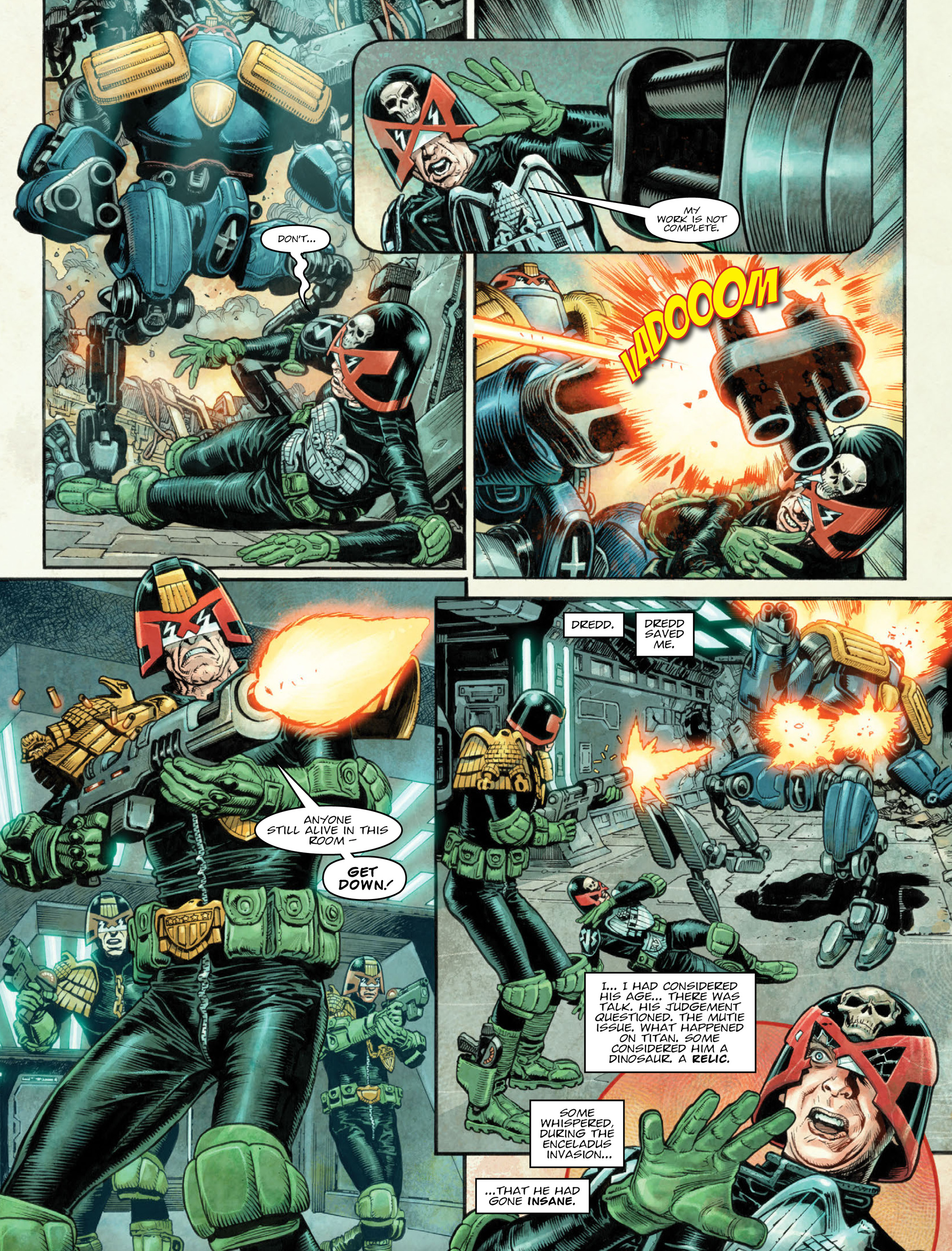 Read online 2000 AD comic -  Issue #2036 - 6