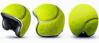 Helm Unik Model Bola Tenis