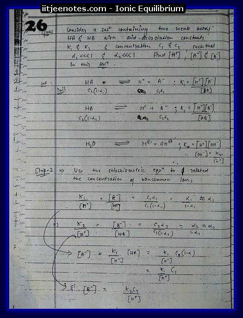 Ionic Equilibrium Notes10