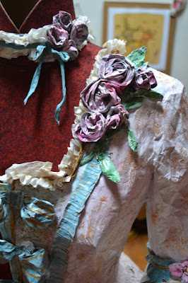 paper dress by Cathy Vagnon
