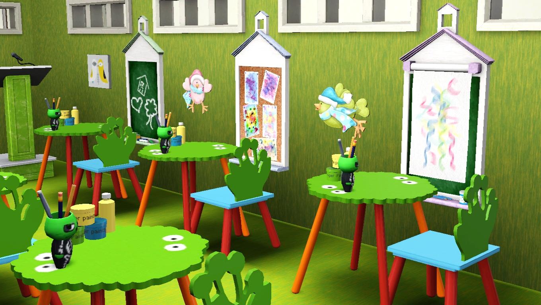 sims 3 school kids classroom