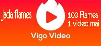 Vigo video mai Flames nhi milne ka Kya karan hai???