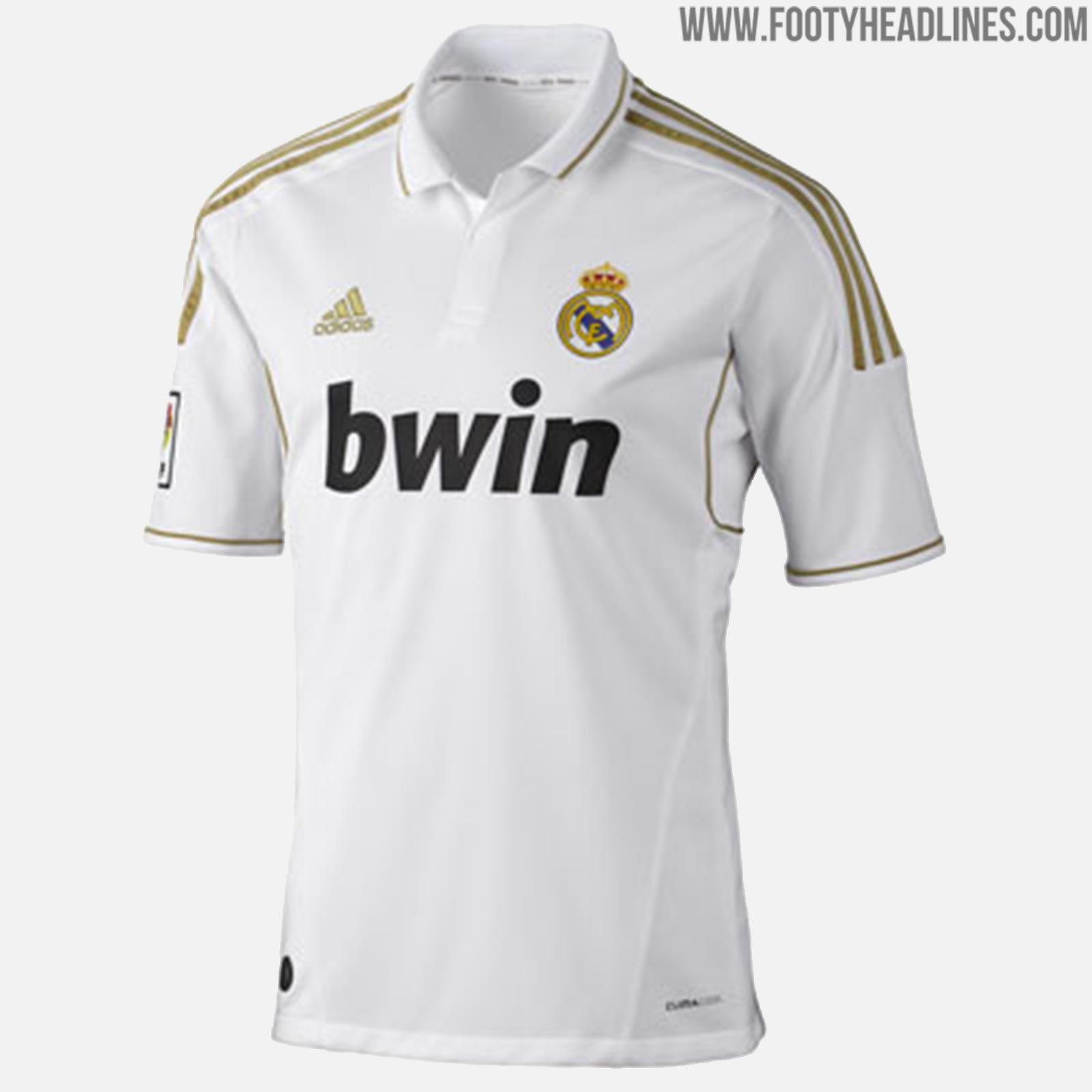huge discount 92d7d 0c199 Here Are All Real Madrid Home Kits Of The Cristiano Ronaldo ...