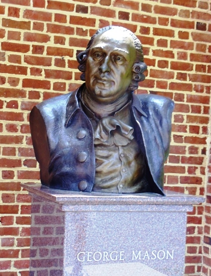 Bust of George Mason