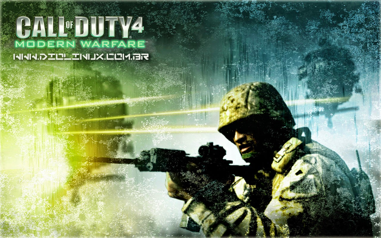 Call of Duty Modern Warfare no Ubuntu pelo Wine