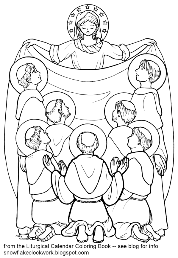 Snowflake Clockwork: Seven Founders of the Servites