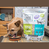 I and Love and You Stir and Boom Homemade Dog Food review