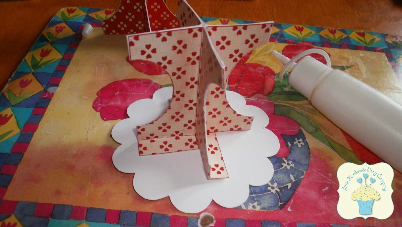 Diy Carboard Cupcake Stand With Templates Oh My