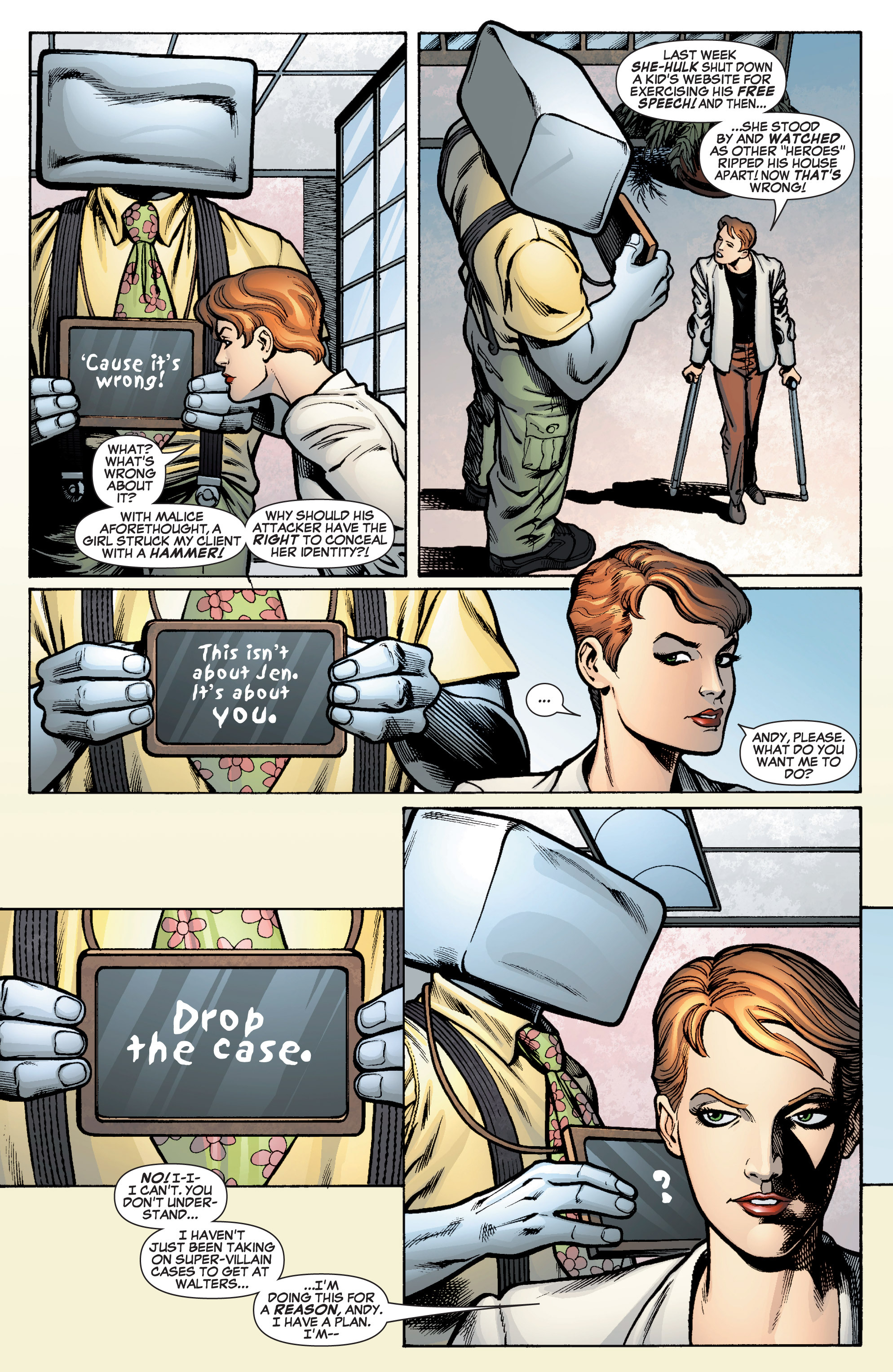 Read online She-Hulk (2005) comic -  Issue #10 - 11