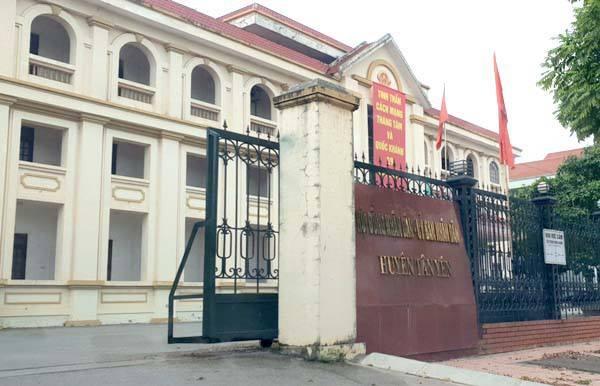 chính quyền địa phương huyện Tân Yên