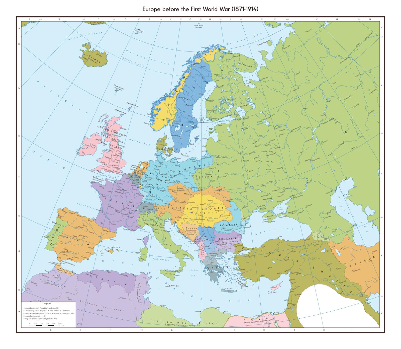 Europe before the First World War (1871 - 1914)