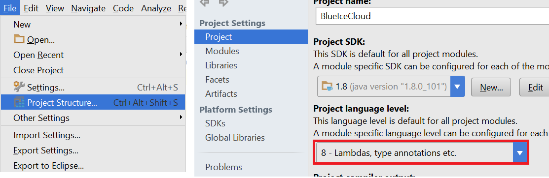 How to fix Java language level error in Intellij? – User friendly Tech help
