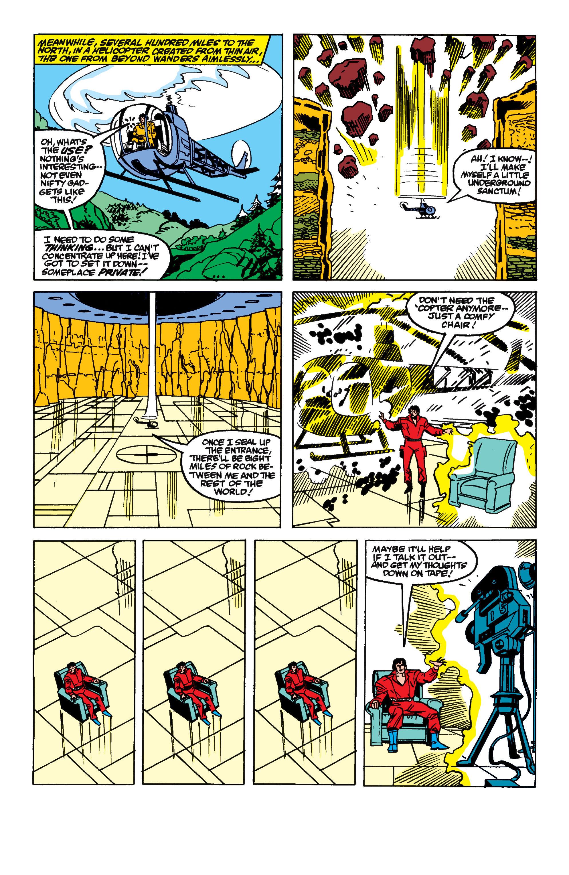 Read online Secret Wars II comic -  Issue #9 - 8