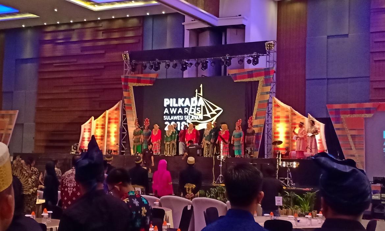 KPU Sulsel Gelar Pilkada Award, Berikut Daftar Para Pemenang