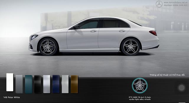 Mercedes E300 AMG 2018 được thiết kế thể thao, sang trọng và lịch lãm
