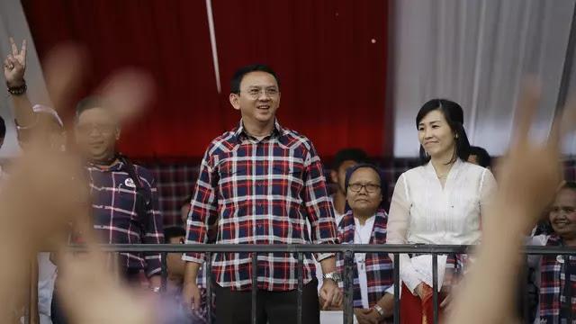 Pengacara Akui Ahok Sedih Gugat Cerai Veronica Tan