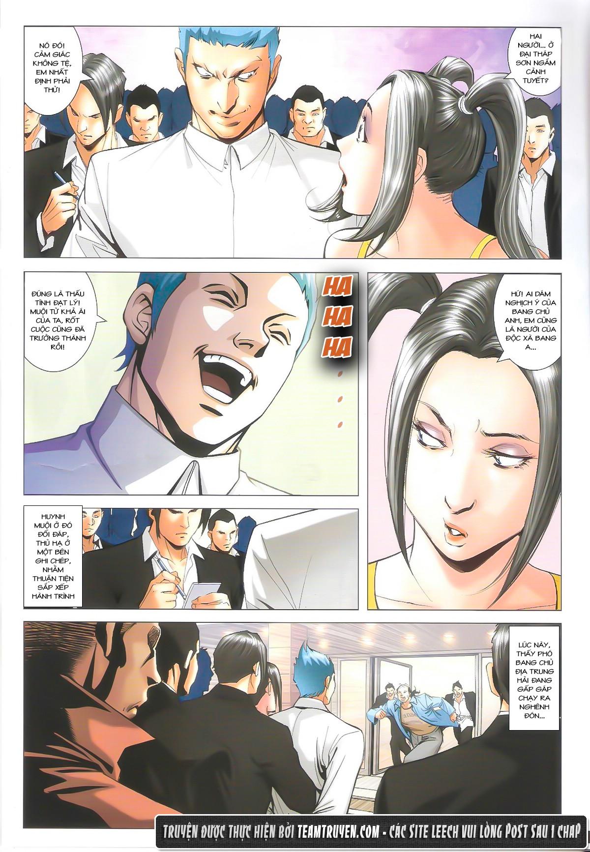 Người Trong Giang Hồ chapter 1612: thần nhân tương ngộ trang 4