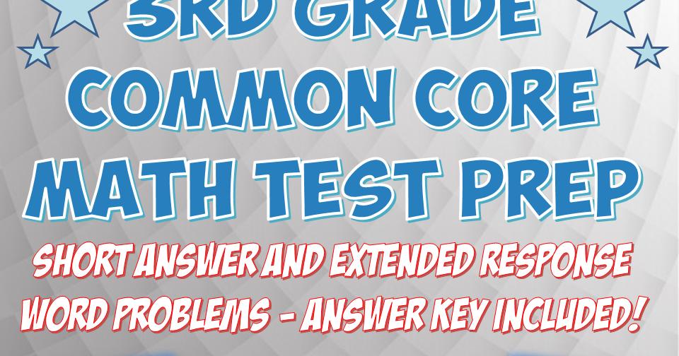 MrTechnology on TpT!: 3rd Grade Common Core Aligned Math Test Prep ...