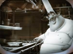 Auguste Gusteau is the ghost chef character from Disney's Pixar movie Ratatouille