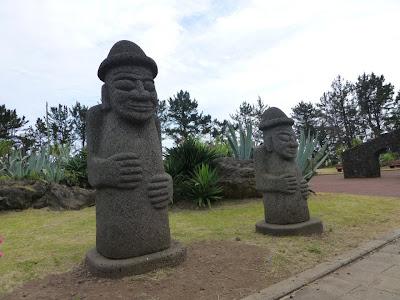 dolharubang Ile de Jeju Corée du sud