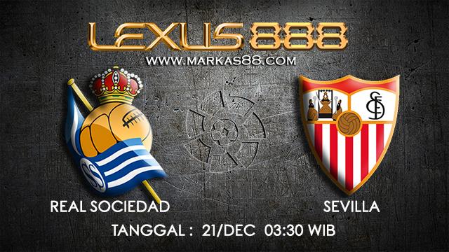 PREDIKSI BOLA ~ PREDIKSI TARUHAN BOLA REAL SOCIEDAD VS SEVILLA 21 DESEMBER 2017 (Spanish La Liga)