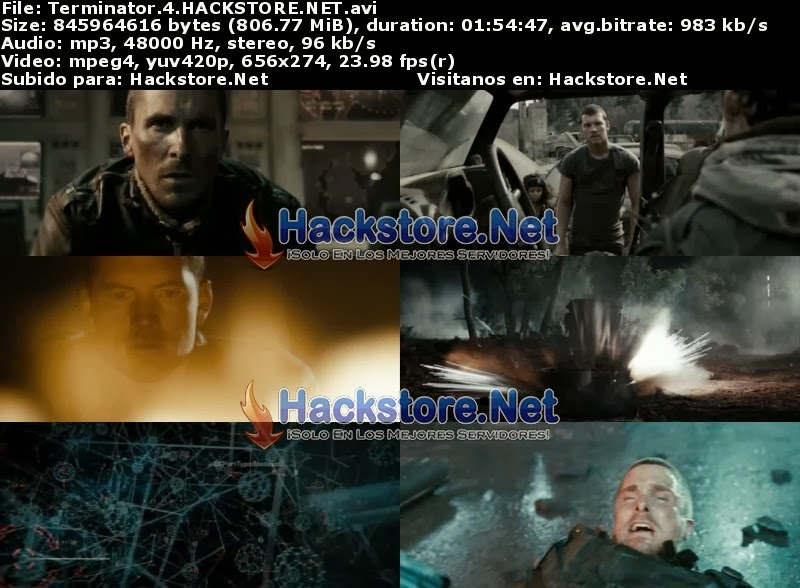 Captura Terminator Salvation 4 (2009) DVDRip Latino