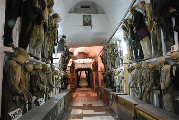 Catacumbas de los Capuchinos, Palermo