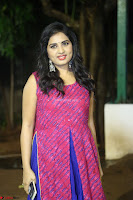 Srushti in beautiful Pink Sleeveless Dress Cute Actress Dimples ~  Exclusive 057.JPG