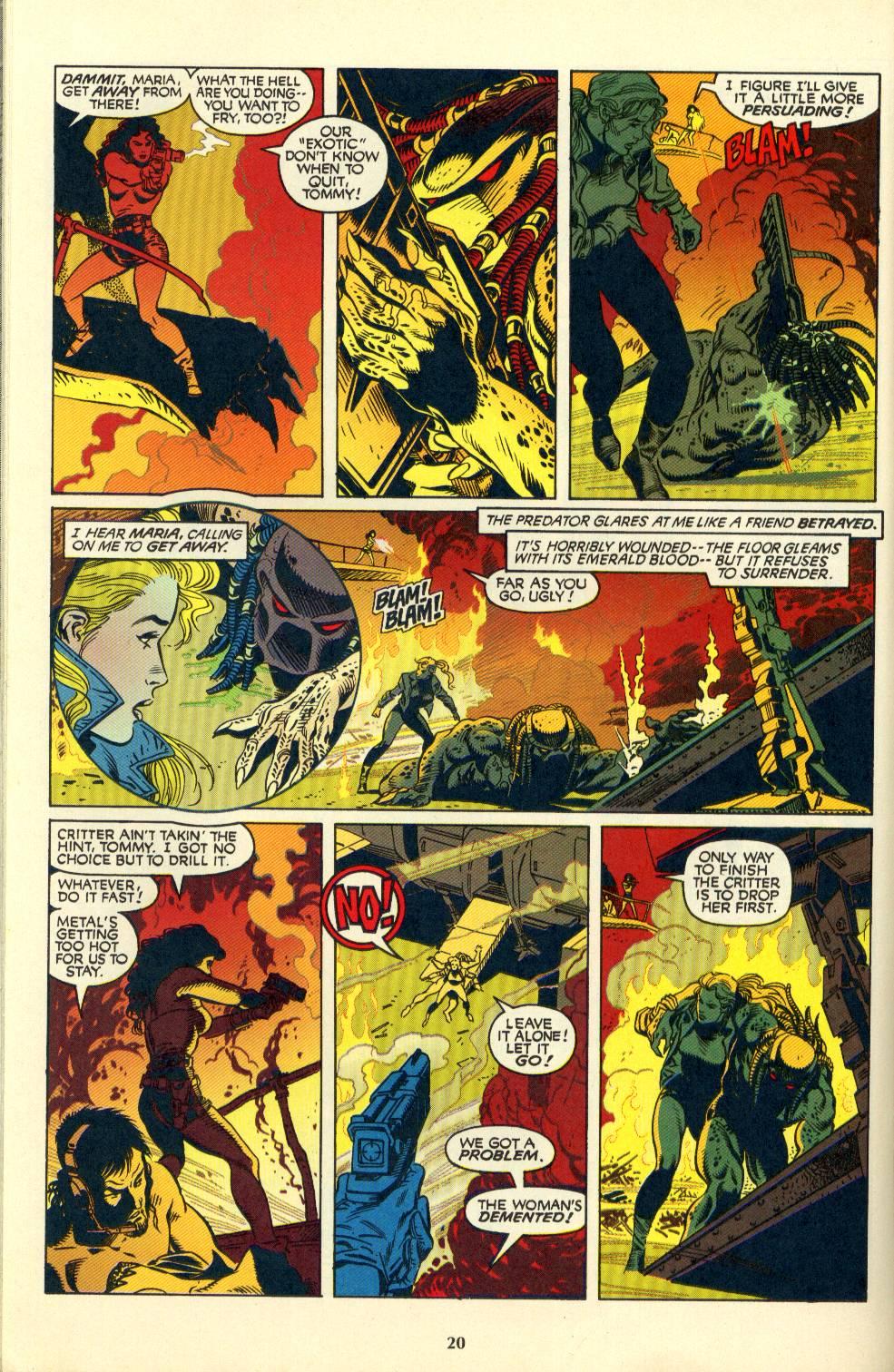 Read online Aliens/Predator: The Deadliest of the Species comic -  Issue #4 - 21