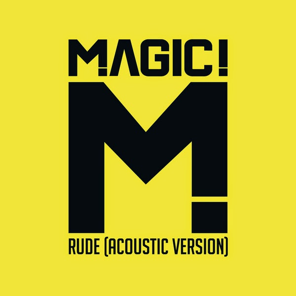 MAGIC! - Rude (Acoustic) - Single Cover