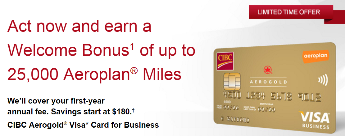 Canadian rewards cibc aerogold visa for business welcome bonus of cibc aerogold visa for business welcome bonus of 25000 aeroplan miles fyf colourmoves