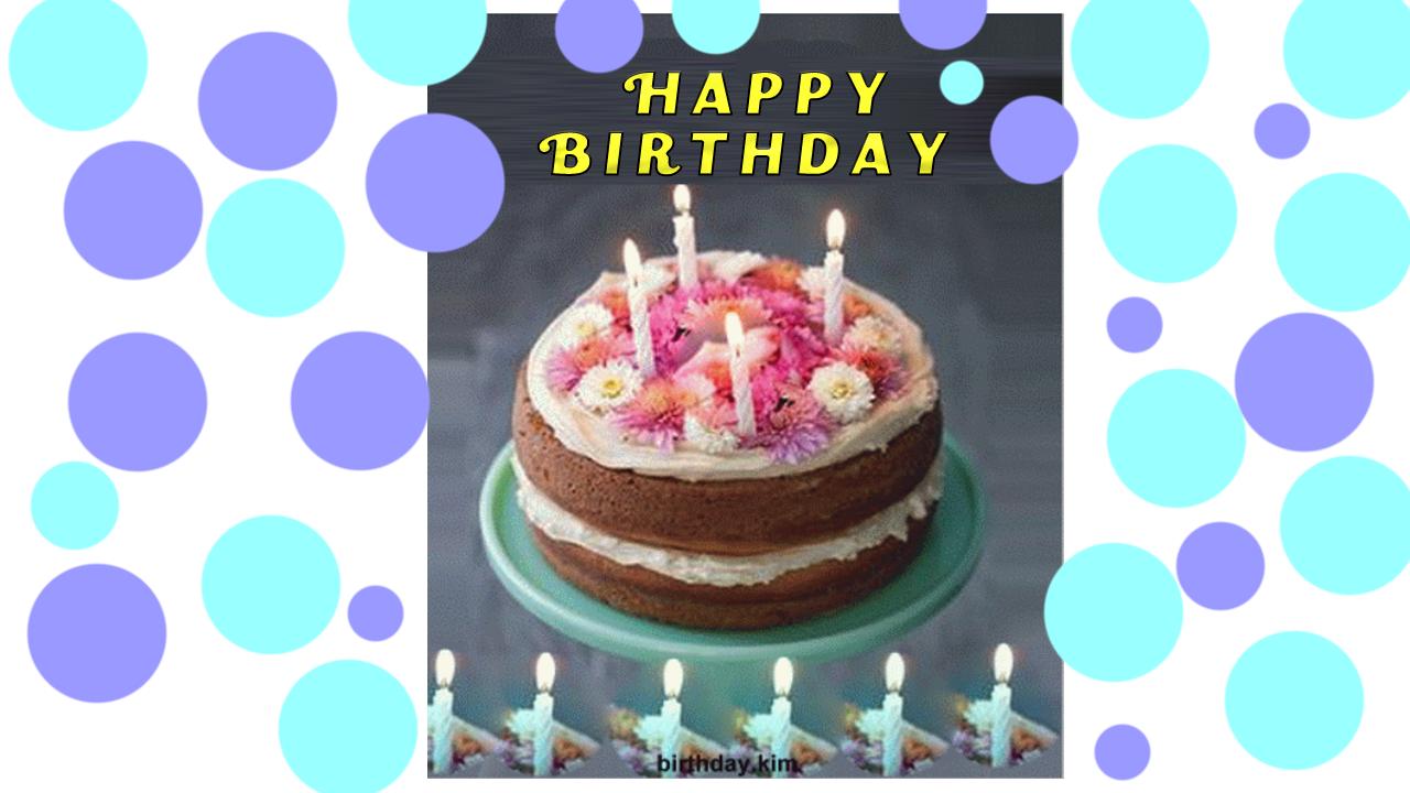 Animated Gif Birthday Cake Celebrations Happy Birthday Greeting Cards