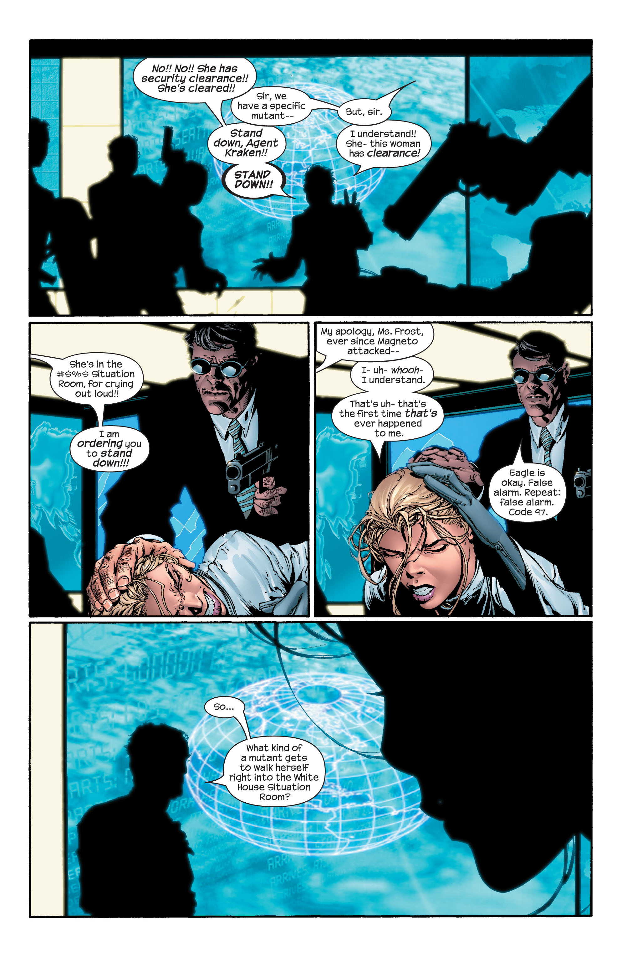Read online Ultimate X-Men comic -  Issue #43 - 6