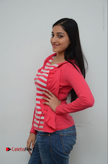Telugu Actress Mouryani Latest Pos in Blue Denim Jeans  0038.JPG