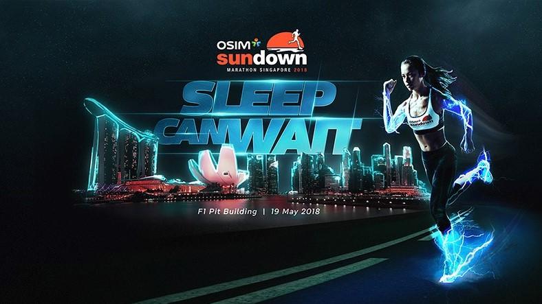 Osim Sundown Marathon Singapore • 2018