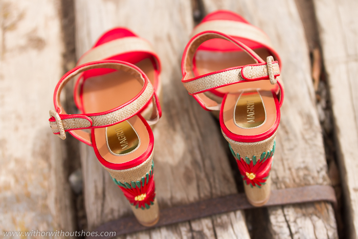 RaffiaOr Shoes Natural Without Wedges Magrit With Made j354ARqL