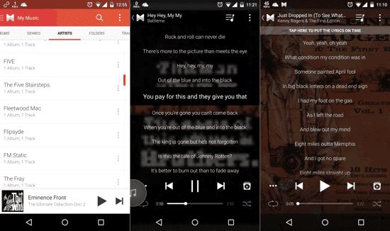 Cara Menampilkan Lirik Lagu di Music Player pada OPPO Find 7