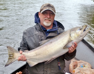 Southern oregon fishing report upper rogue river salmon for Southern oregon fishing report
