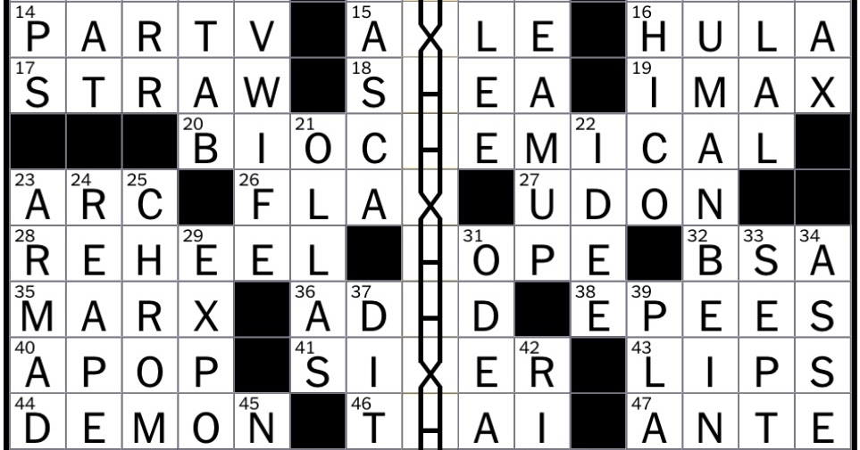 Rex Parker Does the NYT Crossword Puzzle: Sanity Clause ...