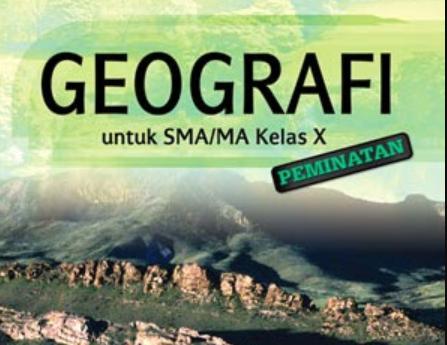 Contoh Soal UTS Geografi Kelas X Semester 1 K13 Beserta Jawaban ~ Part-4 - By Pengertians
