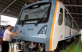 Kereta Bandara Kuala Namu Buatan Korea Mogok