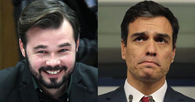 El ZASCA de Gabriel Rufián a Pedro Sánchez se ha oído en Galicia