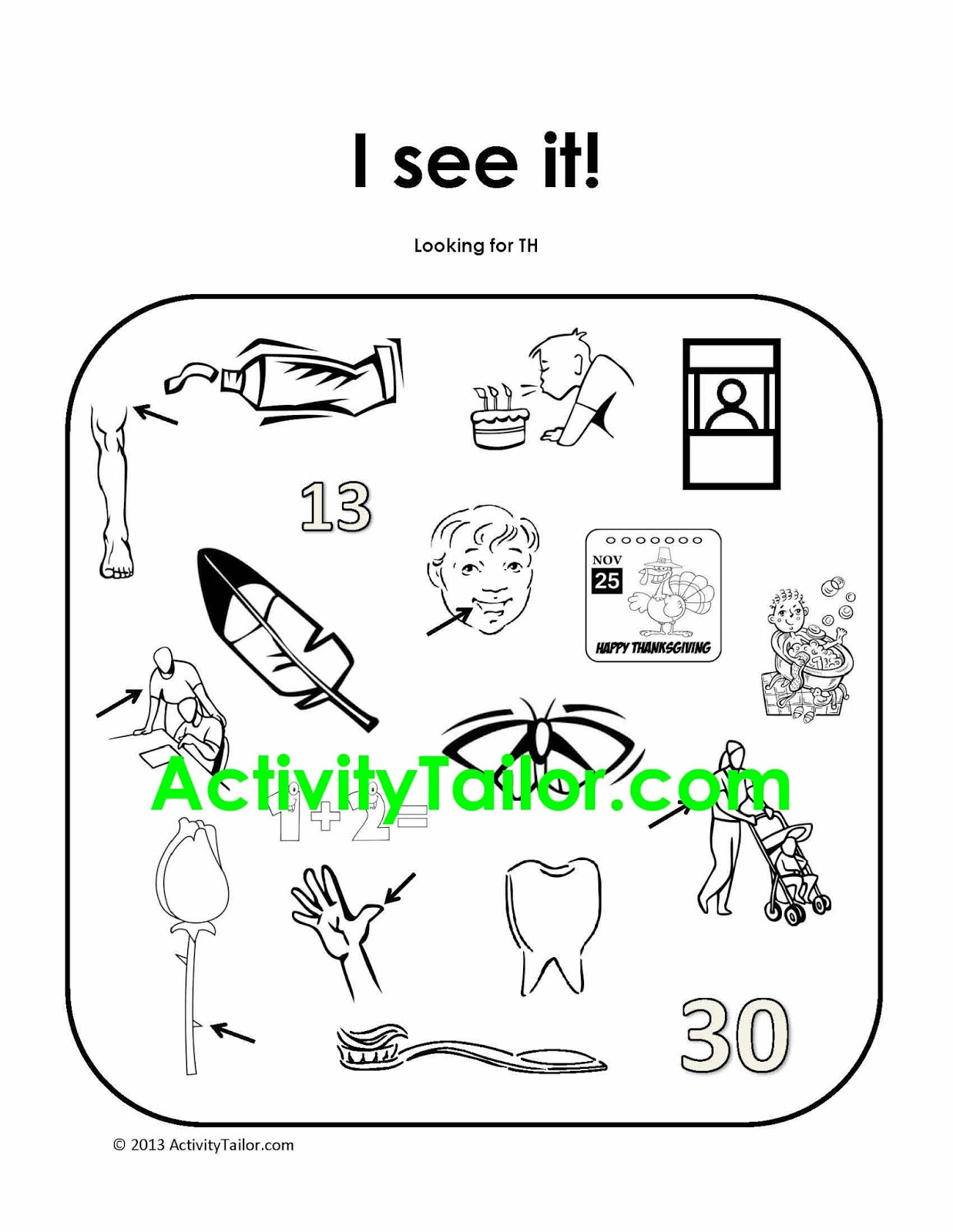 Speechie Freebies: I See It! for language and articulation