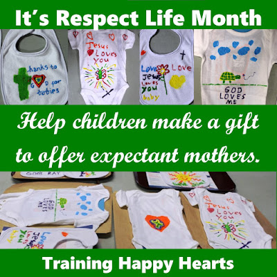 http://traininghappyhearts.blogspot.com/2016/10/pro-life-kids-decorate-bibs-and-onesies.html