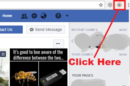 how to download all images from facebook at once