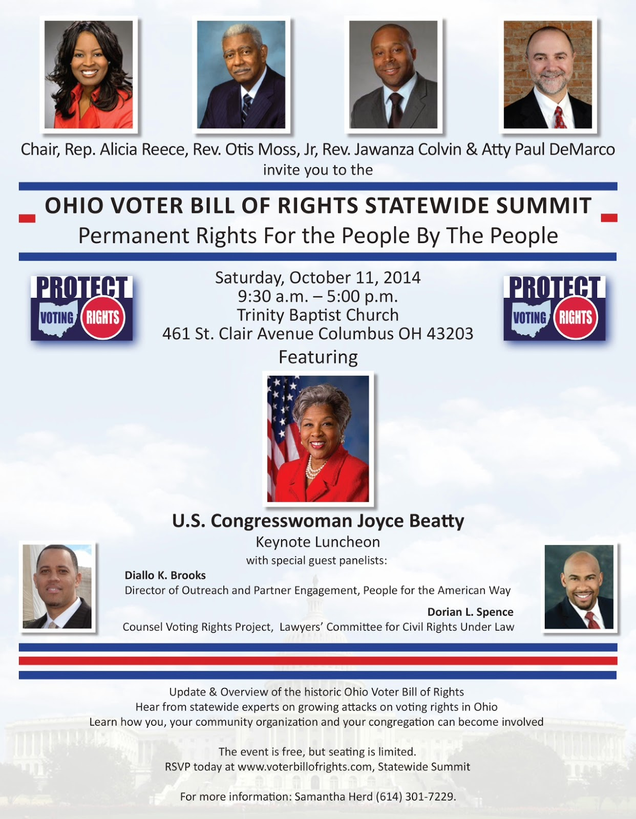 Ohio Voter Bill of Rights Statewide Summit
