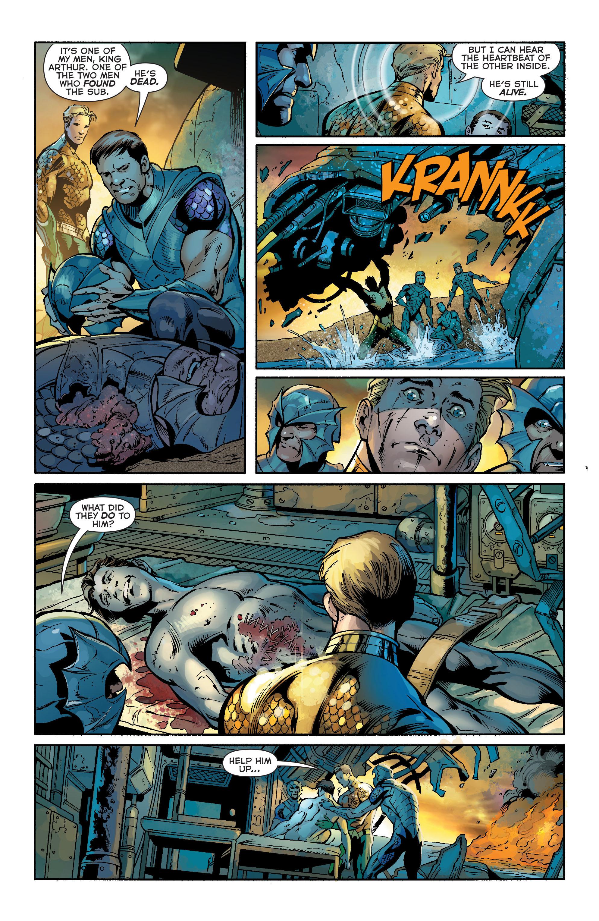 Read online Aquaman (2011) comic -  Issue #19 - 19