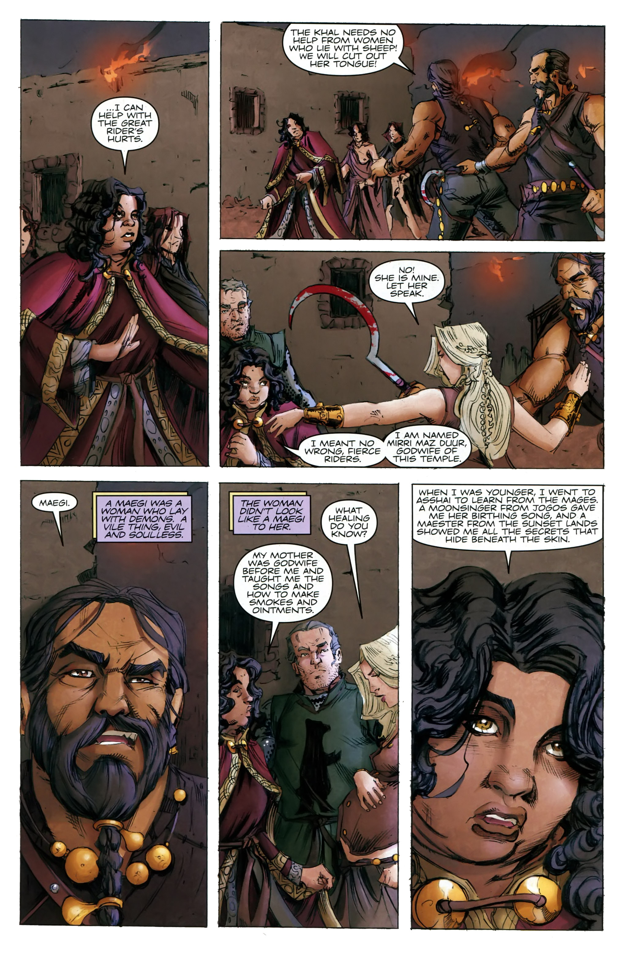 Read online A Game Of Thrones comic -  Issue #20 - 15