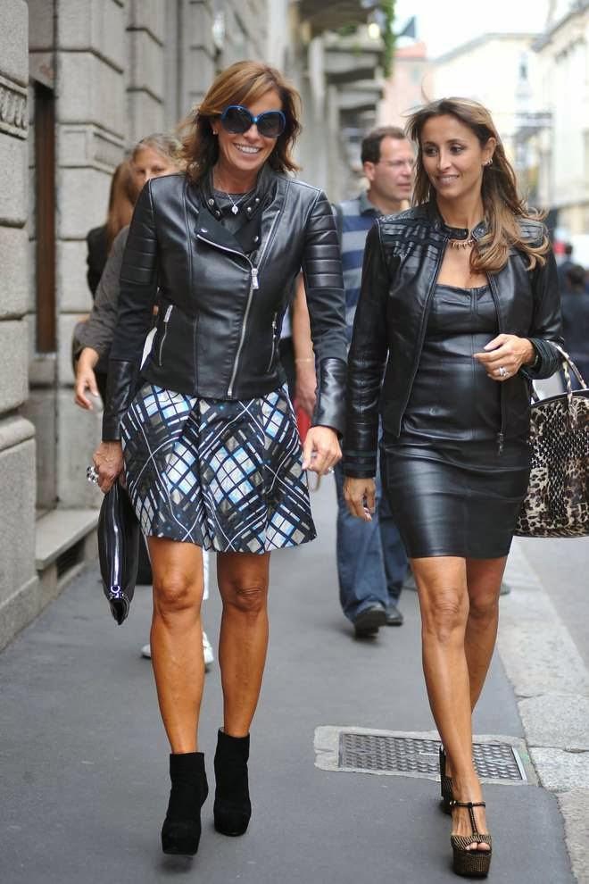 Moda Fashion Style La Sorelle Parodi Un Salto Alle Sfilate Prima Del Ritorno Sul Piccolo Schermo